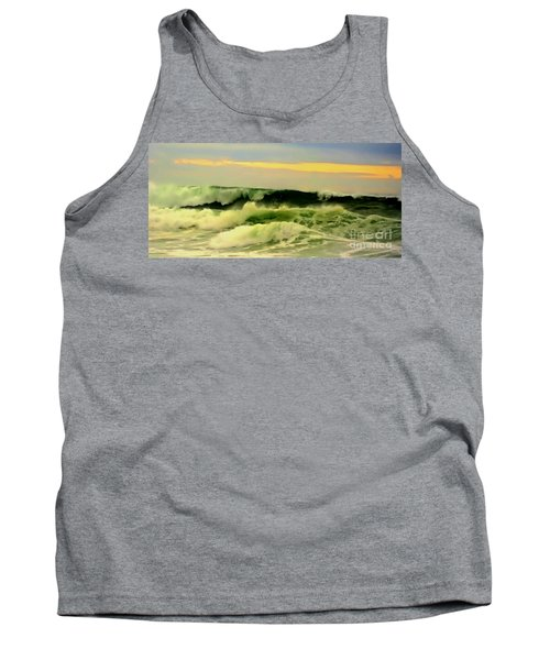 Turbulent Ocean Swell Tank Top by Blair Stuart