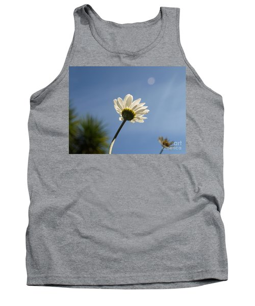 Turn To The Light Tank Top by Richard Brookes