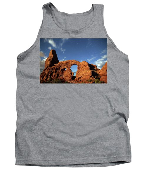 Turret Arch In The Moonlight Tank Top