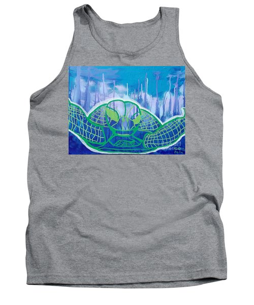 Turtle Tank Top by Andres Pola