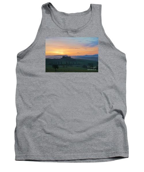 Tank Top featuring the photograph Tuscan Morning by Yuri Santin