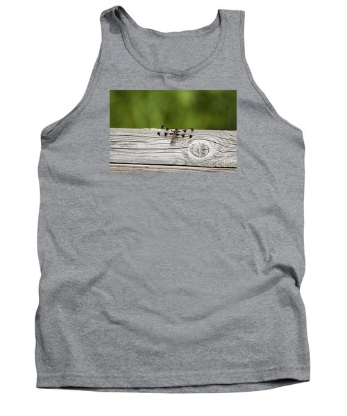 Tank Top featuring the photograph Twelve Spotted-skimmer 20120703_213a by Tina Hopkins