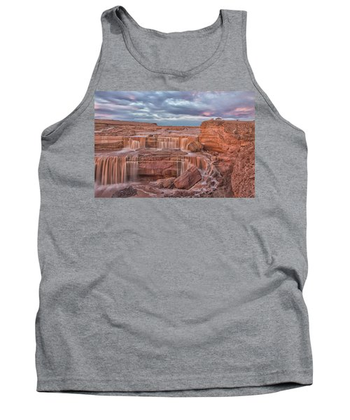 Twilight At Chocolate Falls Tank Top by Tom Kelly