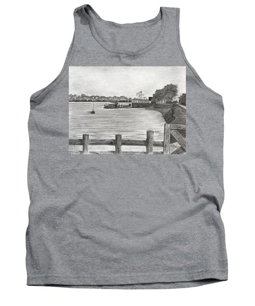 Twilight On Tomales Bay Tank Top