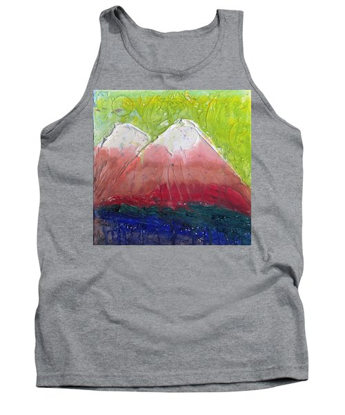 Twin Peaks II Tank Top by Phil Strang