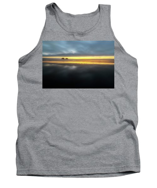 Twin Rocks Sunset Sliver Tank Top