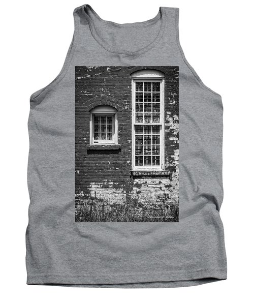 Tank Top featuring the photograph Twins - Bw by Christopher Holmes