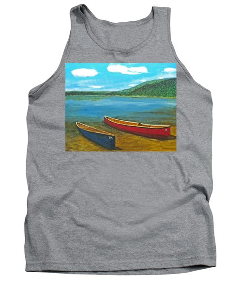 Two Canoes Tank Top