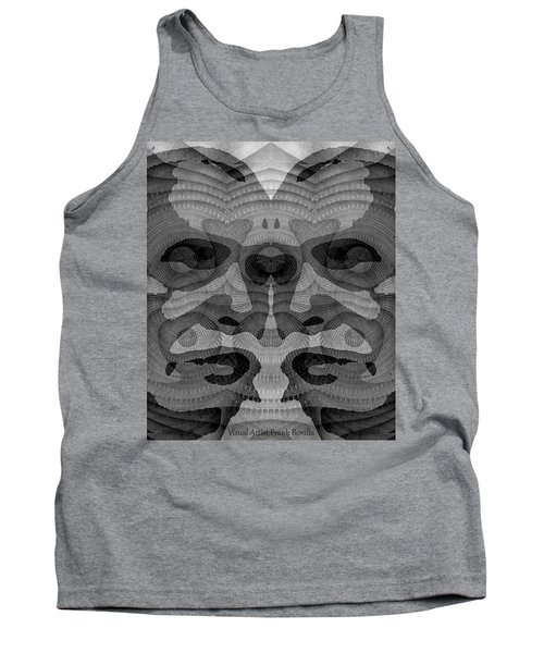 Two-faced Bw Version Tank Top