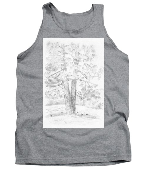 Two Pine Trees Tank Top