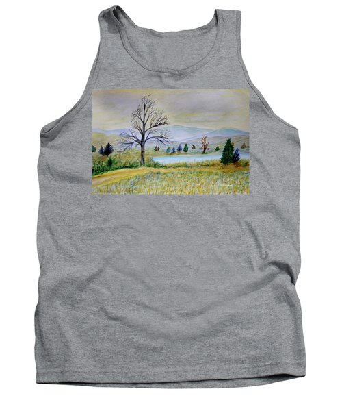 Two Tracking Tank Top
