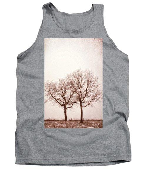 Two Trees#1 Tank Top by Susan Crossman Buscho