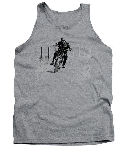 Two Wheels Move The Soul Tank Top by Mark Rogan