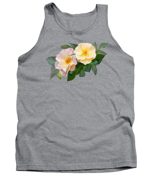 Two Wild Roses Tank Top