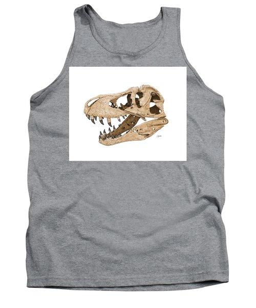 Tyrannosaurus Skull Tank Top