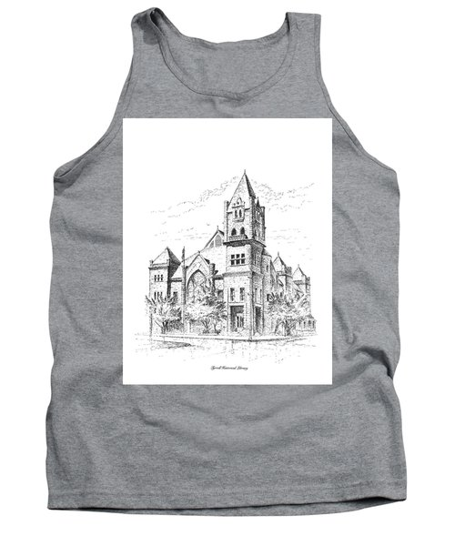 Tyrrell Historical Library Tank Top