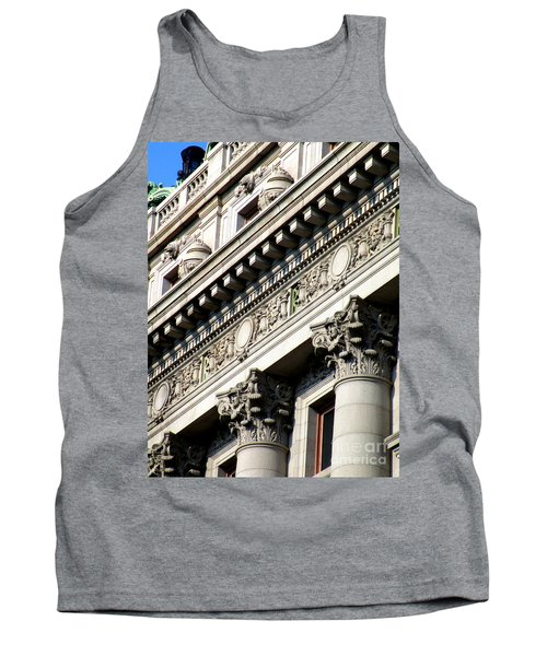 U S Custom House 2 Tank Top by Randall Weidner