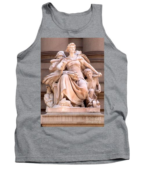 U S Custom House 4 Tank Top by Randall Weidner