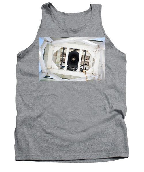 Tank Top featuring the photograph Uga Chapel Bell by Parker Cunningham