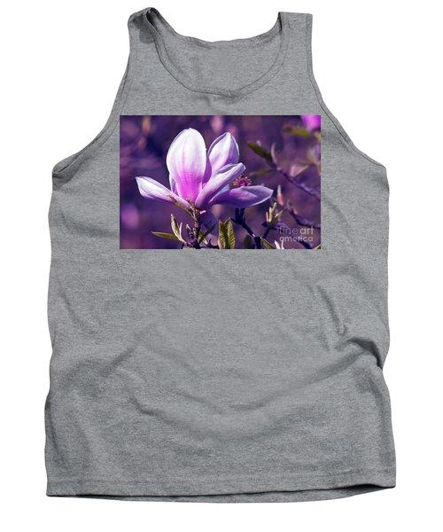 Ultra Violet Magnolia  Tank Top