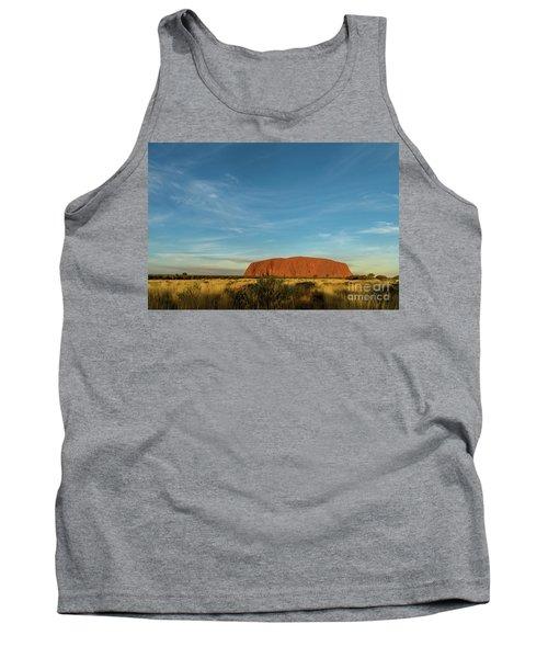 Tank Top featuring the photograph Uluru Sunset 01 by Werner Padarin