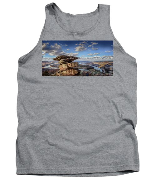 Umbrella Rock Overlooking Moccasin Bend Tank Top