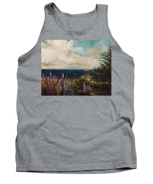 Under Full Sail Tank Top by John Williams
