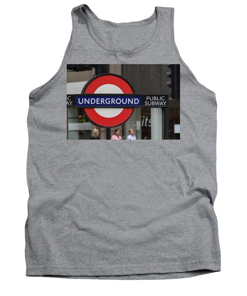Underground Sign London Tank Top