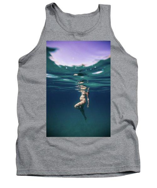 Underwater Pregnant Tank Top