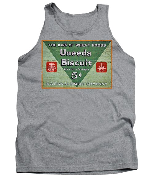 Uneeda Biscuit Vintage Sign Tank Top
