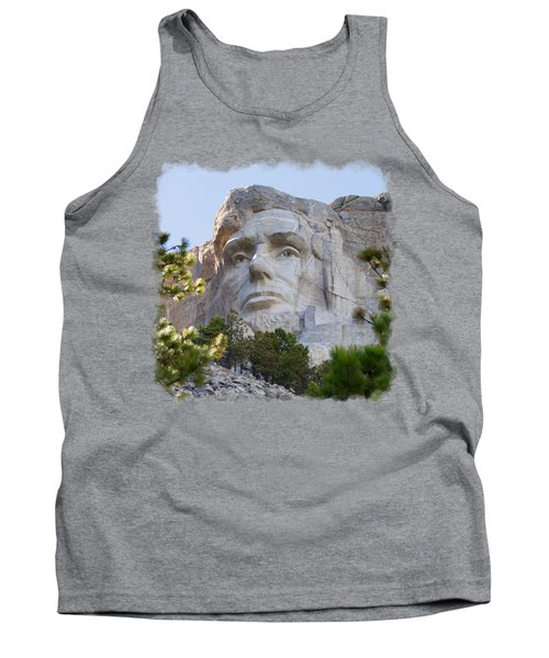 Unfinished Lincoln 3 Tank Top by John M Bailey