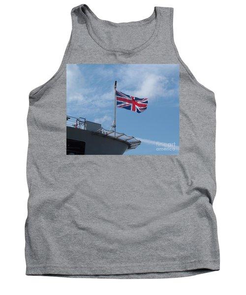 Union Jack Tank Top by Richard Brookes