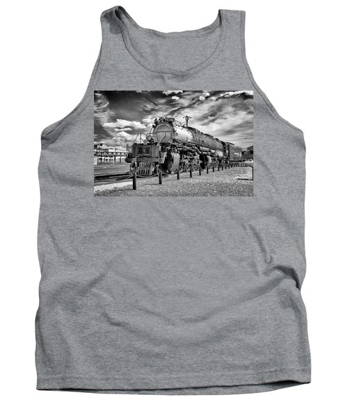 Tank Top featuring the photograph Union Pacific 4-8-8-4 Big Boy by Paul W Faust - Impressions of Light