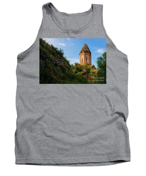 Unique Kirants Monastery On A Sunny Day, Armenia Tank Top by Gurgen Bakhshetsyan