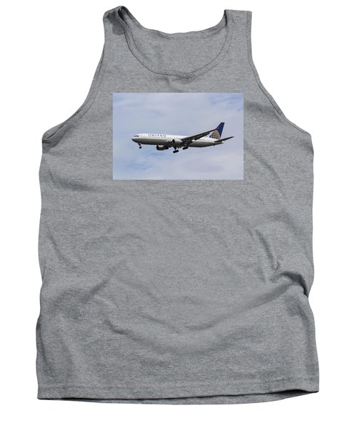 United Airlines Boeing 767 Tank Top