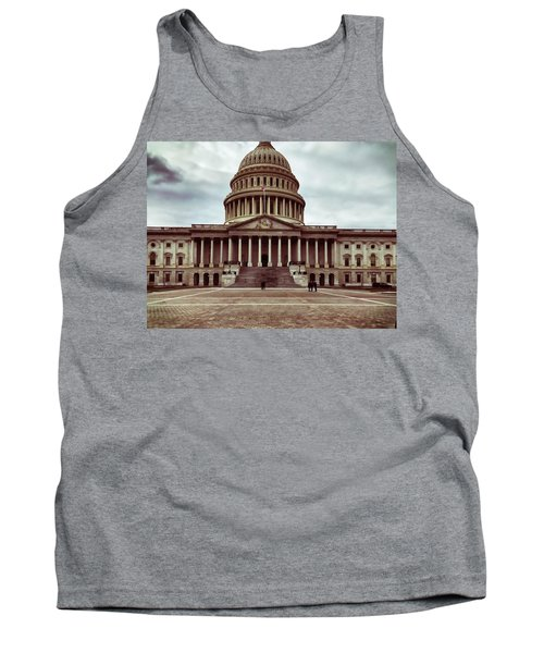 United States Capitol Building Tank Top