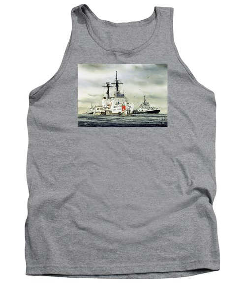 United States Coast Guard Boutwell Tank Top by James Williamson