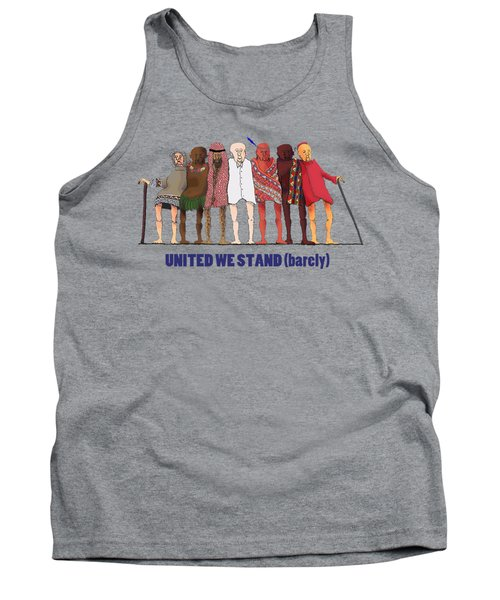 United We Stand Transparent Background Tank Top