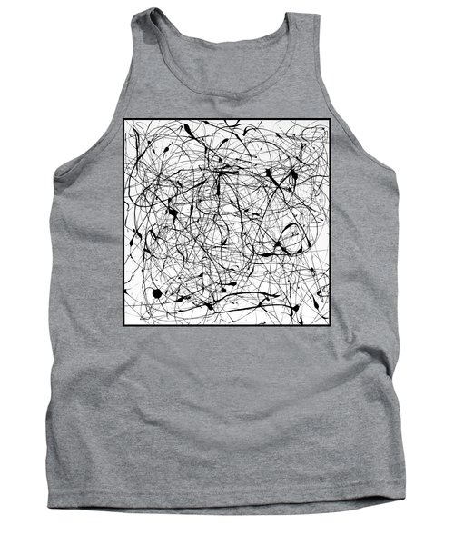 Universal Painting Tank Top by Ismael Cavazos