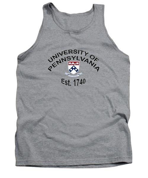 University Of Pennsylvania Est 1740 Tank Top