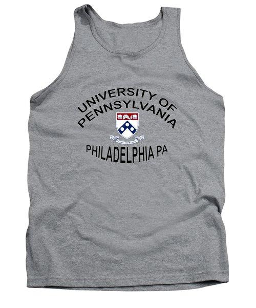 University Of Pennsylvania Philadelphia P A Tank Top by Movie Poster Prints