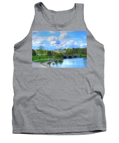 Tank Top featuring the pyrography Untitled by Michael Frank Jr