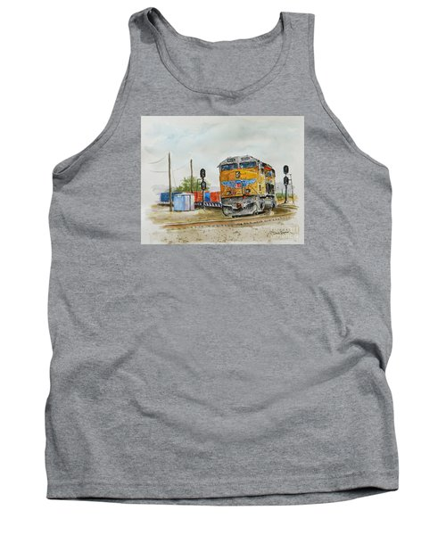U.p. 8226 Tank Top by William Reed