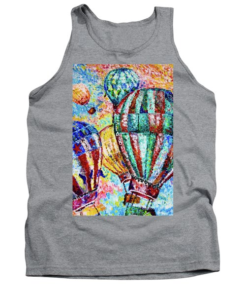 Tank Top featuring the painting Up by Colleen Kammerer