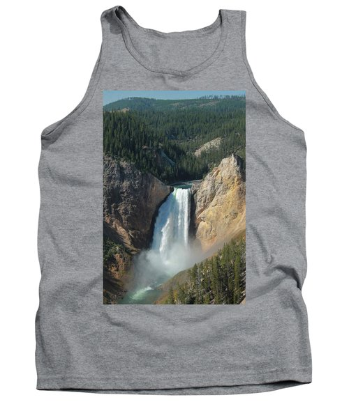 Upper Falls, Yellowstone River Tank Top