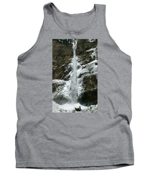 Upper Multnomah Falls Ice Tank Top