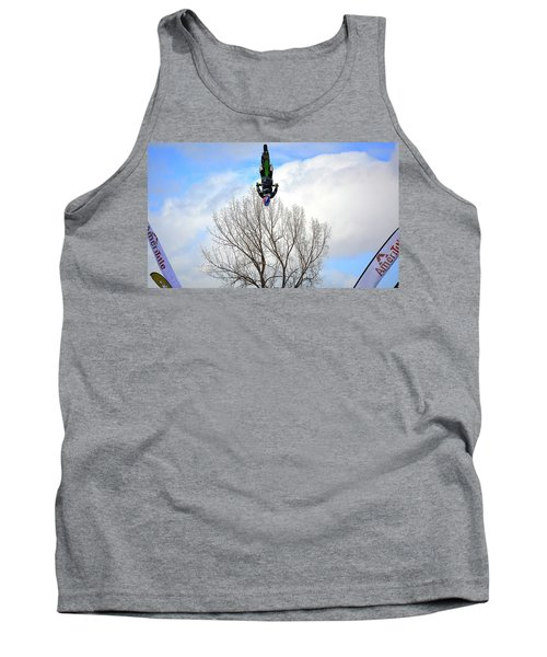 Tank Top featuring the photograph Upside Down And All Around by Barbara Dudley