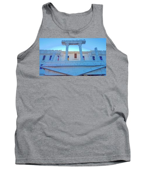 Upside Down White House Tank Top