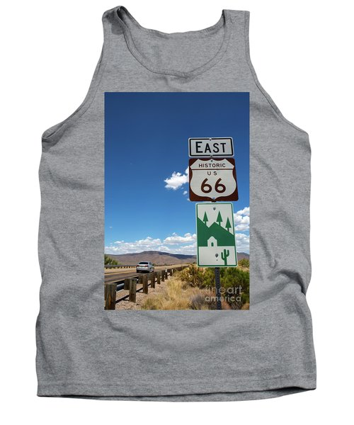 Us Route 66 Sign Arizona Tank Top