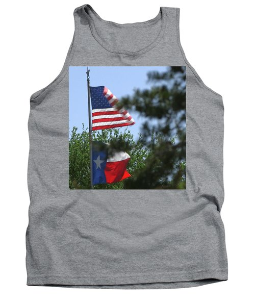Usa Blesses Texas Tank Top
